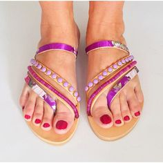New Bali sandals Boho Sandals, Strappy Sandals, Leather Sandals, Purple Bags, Shoe Dazzle, Soft Leather, Straw Bag, Bali, Travel Outfits