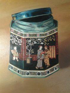 Tea Time olio su tela