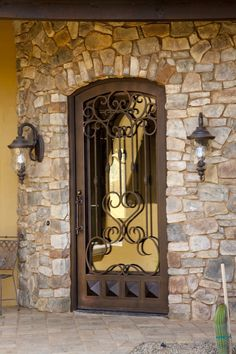 Custom Iron Entry Doors #Firstimpression