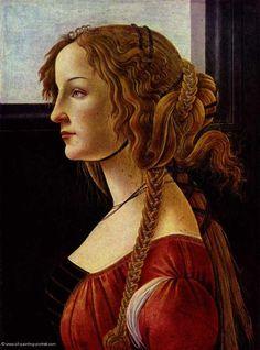 Simonetta Vespucci, Aleksandro Botticelli