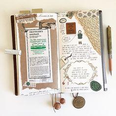 Midori Traveler's Notebook (@thedailyroe)