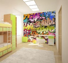 removable wallpaper Graffiti - Google Search