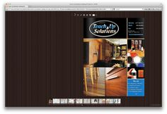 Digital Catalog of Touch Up Solutions - Wood Floors, Desktop Screenshot, Catalog, Flat Screen, Touch, Digital, Wood, Home Tiles, Flats
