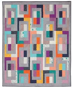 Additional Images of Meter Maid Quilt Kit by Abbey Lane Quilts - ConnectingThreads.com