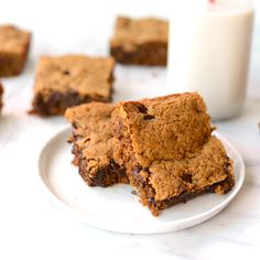 Grain-Free Chocolate Chip Cookie Bars