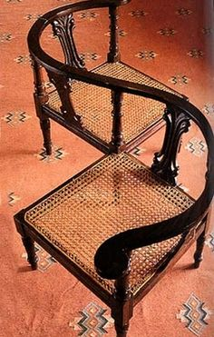 A stylish spin to the traditional chair from the British Raj era.