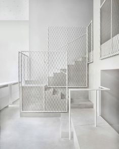Driade by David Chripperfield Architects via trendland- interior, simple, color