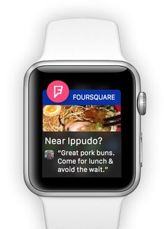 Foursquare anuncia en su blog el lanzamiento de su aplicación para Apple Watch