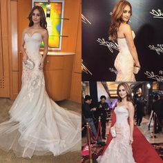 """""""And of course, I want to end the with a big THANK YOU to for my gown! Thank you also to for styling…"""" Coleen Garcia, Oh My Dress, Star Magic Ball, Thank You Both, Style Me, Fashion Beauty, Hair Makeup, Gowns, Big"""