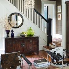 Decidedly masculine interiors found on The Lennox and Rachelleabelle.