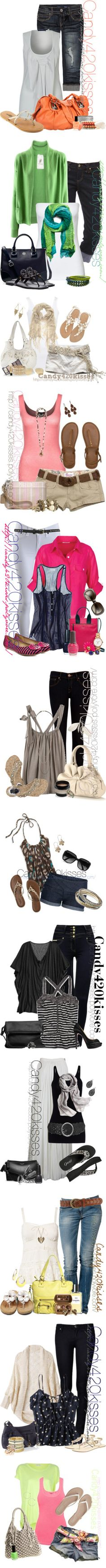 """""""Spring/Summer sets"""" by candy420kisses on Polyvore"""
