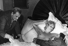 Luchino Visconti, Ingrid Thulin, Dirk Bogarde / The Damned 1969 directed by… Lee Remick, Cybill Shepherd, Luchino Visconti, Ingrid, Faye Dunaway, Kirk Douglas, Alain Delon, Romy Schneider, Jane Fonda