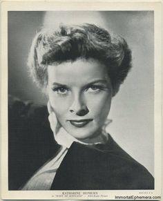 "Katharine Hepburn circa 1936 R95 8x10 Linen Textured Premium Photo (Emo Movie Club) - In Promotion of ""Mary of Scotland"""