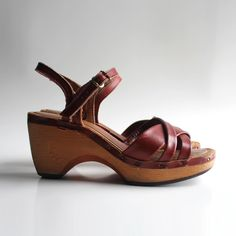 bare traps wood sandals - Google Search