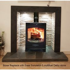 f691466795c Boxer Fireplace   Esse Sunvision solid fuel stove package