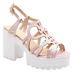 Stylish Hollow Out and Platform Design Women's Sandals #>=#>=#>=#>=#> Click on the pin to check out discount price, color, size, shipping, etc. Save and like it!