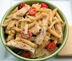Grilled chicken ceasar pasta- easy weeknight dinner