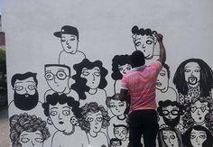 Un paese calabrese di 15mila anime sul Tirreno cosentino, Amantea, una forte comunità di emigrati, in gran parte in Venezuela, di seconda e terza generazione, una nuova comunità di migranti, africani soprattutto, e un festival di cinema per metterli a confronto...
