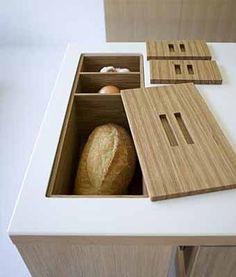 идеи хранения для кухни