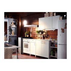 FYNDIG Armario de pared con puertas - blanco/blanco - IKEA