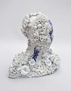Porcelain Artworks by Juliette Clovis - Design Is This