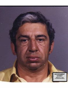 Butch Petrocelli, a member of the Wild Bunch, before his face was burned off with a blow torch