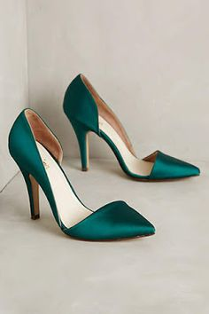 df0e16d2af8 Being Bohemian  Favorites Emerald Green Heels