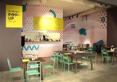 The Goods Dept Pop-Up Store/Cafe by Retno Hadiningdiah, via Behance