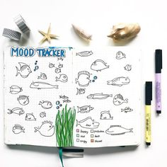 Dozens of Gorgeous Mood Trackers That Will Make Your Soul Smile Bullet Journal Tracker, Bullet Journal Mood, Bullet Journal Layout, Bullet Journal Inspiration, Bullet Journals, Journal Ideas, Arc Planner, Passion Planner, Happy Planner