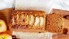 Date and Apple Loaf - Cooking for Busy Mums Loaf Recipes, Vegan Recipes, Cooking Recipes, Yummy Recipes, Date And Walnut Loaf, Date Loaf, Apple Loaf, A Food, Food And Drink