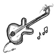 doodle guitar