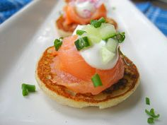 Home Cooking In Montana: Potato Pancakes(or Blinis)...with Smoked Salmon