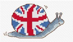 Union Jack Snail - Margaret Sherry