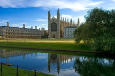 Student Tours to Cambridge with UK Study Tours Kings College Chapel, Cambridge UK