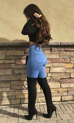 How to wear fall fashion outfits with casual style trends Sexy Outfits, Mode Outfits, Trendy Outfits, Fashion Outfits, Womens Fashion, Fashion Heels, Fashion Boots, Fashion 2018, Chic Outfits