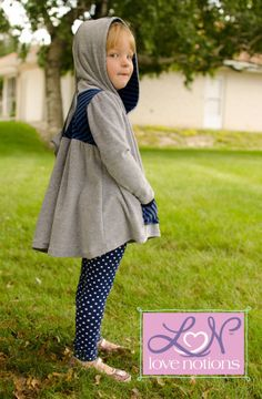 Love Notions Hazelwood Hoodie & Tunic | Sewing Pattern | YouCanMakeThis.com
