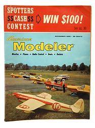 American Modeler November 1958