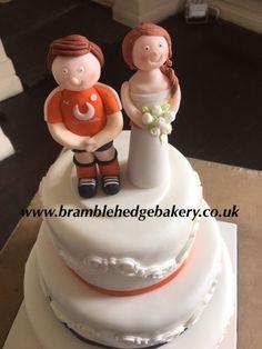 Luton FC wedding cake