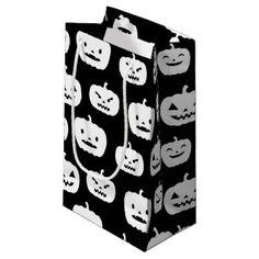 #party - #Fun Halloween pumpkin tiled party bag