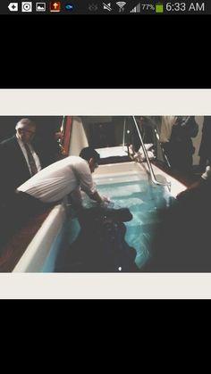 baptism in pentecostal church