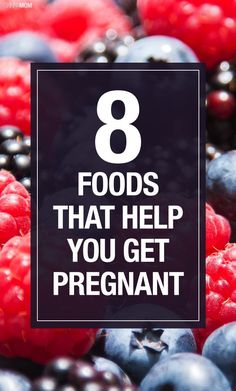 If you're trying to conceive here are some foods to help.