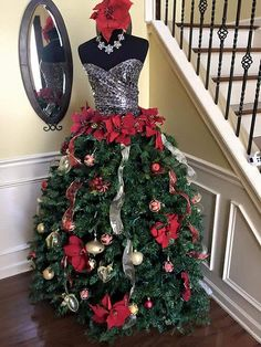 Dressform Christmas Tree