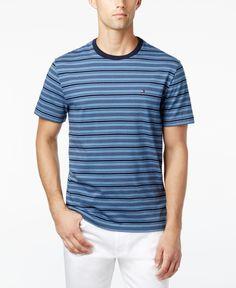 Tommy Hilfiger Men's Hunter Striped T-Shirt