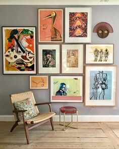 64 outstanding gallery wall decor ideas 26 ~ Design And Decoration Inspiration Wand, Interior Inspiration, Home And Living, Home Art, Interior And Exterior, Interior Paint, Room Interior, Living Room Decor, Living Room Wall Art
