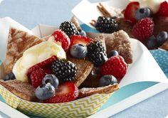 Driscoll's Breakfast Berry Nachos. www.driscolls.com