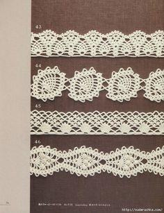 Pineapple edges (Crochet)
