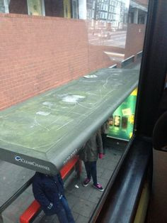 Asked for comment, the bus stop remarked: 'Cassettes, I had a few…'