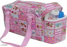 Checkout this latest Clothes Covers_1500-2000 Product Name: *Stylish Baby Diaper Bag* Material: Rexine Size: Free Size Description: It has 1 piece of Baby Diaper Bag with 2 Bottle Warmers Work: Printed Country of Origin: India Easy Returns Available In Case Of Any Issue   Catalog Rating: ★4.2 (1011)  Catalog Name: Pretty Baby Diaper Bags Vol 1 CatalogID_110818 C131-SC1628 Code: 483-940080-219