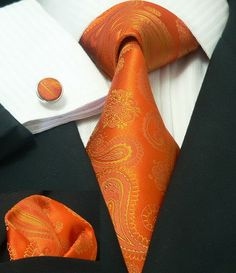 Orange men accessories....... Cool