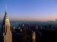 New York City... wanna go back so baaadd   .. soon :) ... wow look at the Chrysler Tower!